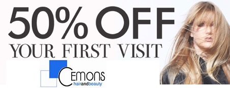 Cemons hair first visit promotion